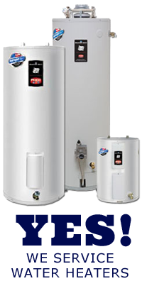 Our Arvada water heater repair and installation team covers all major makes and models